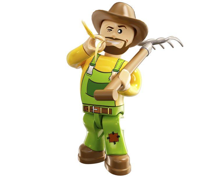 Sadownictwo, ogrodnictwo, uprawa roli, hodowla zwierząt. Farmerzy w  #Action Twon zawsze mają pełne ręce roboty. Zobacz z bliska ich gospodarstwa https://pl.pinterest.com/cobitoys/co-i-gdzie-mo%C5%BCesz-znale%C5%BA%C4%87-w-action-town/