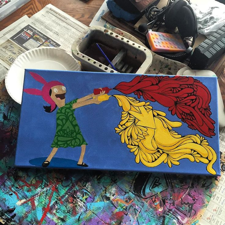 Update on this Louise painting I'm working on #bobsburgers #tpaulkyart #tpaulky #headyart #supportlocalart #oprahsbookclub #chrontonomobay #hustleboro #buyboro #glassofig #wfayo #dopefam #smoke365 #ffourtwenty #weedstagram420 #highsociety #versace #stankyydankyy #keepitchronic #idgt #instaweed #bongbeauties #topshelflife #high_larry_us #losganjales #dabbersdaily #w420 #dablife #deepdream #hrbnlife by tpaulky