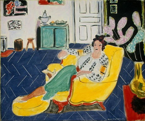 Matisse: Seated Woman with a Romanian blouse    Washington Art Museum