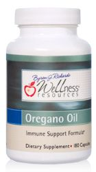 Wild Oregano Oil supplement for the respiratory system and sinuses. High potency capsules, contains 55%-65% carvacrol.