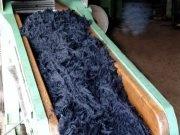 Proces, akým Albano Morgado, taliansky výrobca, spracúva vlnu.