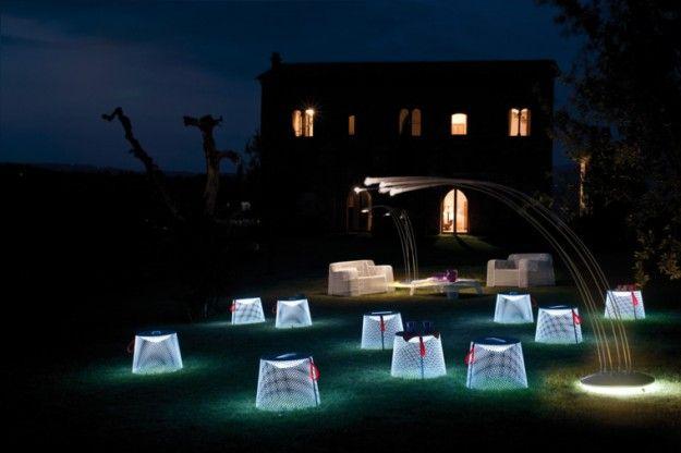 Illuminazione da esterno - Lampade da giardino di design per un'atmosfera romantica.