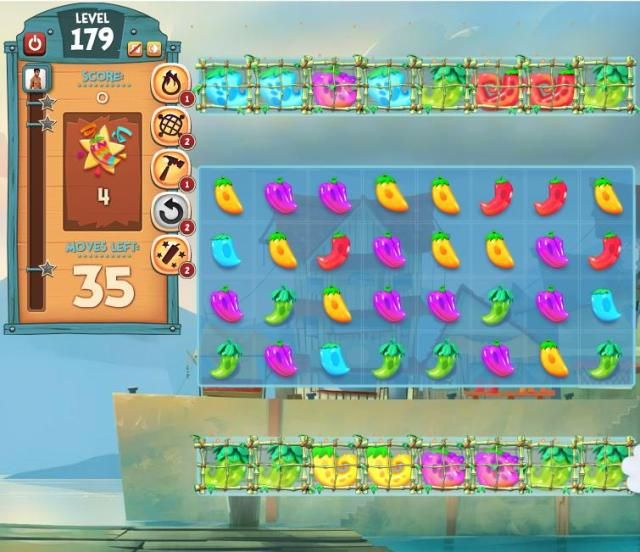 This is a guide to one of the game's hardest levels - Pepper Panic Saga Level 179 http://pepperpanictips.com/pepper-panic-saga-level-179/