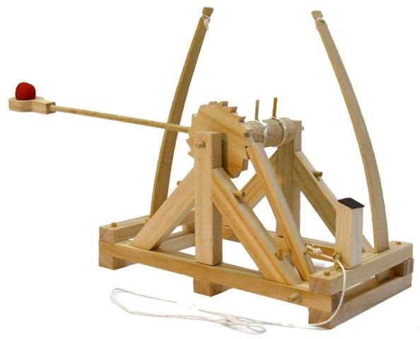 Pathfinders - Build a Wooden Da Vinci Catapult || For the budding engineer in the family to try building something other than Lego. #PinToWin #EntropyWishList