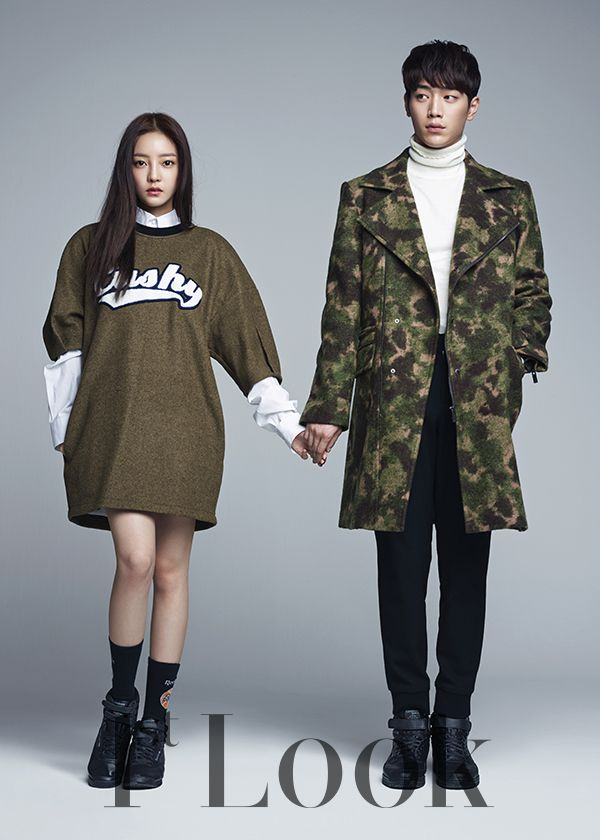 KARA Goo Hara and Seo Kang Joon - Beauty and Youth, 1st Look Magazine Vol.80