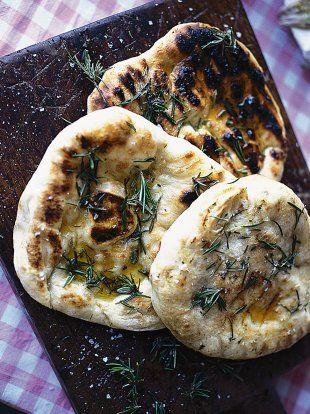 Rosemary Flat bread   Bread Recipes   Jamie Oliver Recipes
