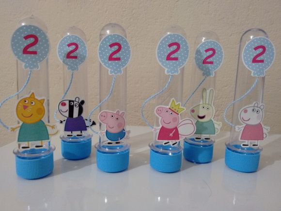 Tubete Personagens Peppa Pig                                                                                                                                                                                 Mais