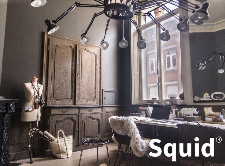 Squid - Oak - Interior
