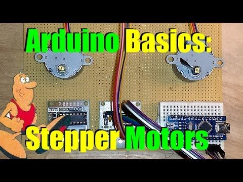 Another great tutorial on using Stepper motors in your Arduino projects. – Douglas Read Arduino Basics Intro to Stepper Motors #Arduino via Adafruit Industries – Makers, hackers, artists, des…