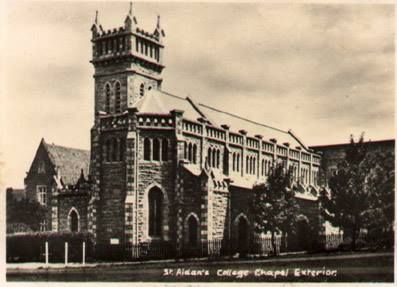 Pictures of the St. Aidan's College Chapel built in 1926. This was a Catholic Jesuit College which was in operation from 1876 to 1973 in Grahamstown, E Cape, South Africa.