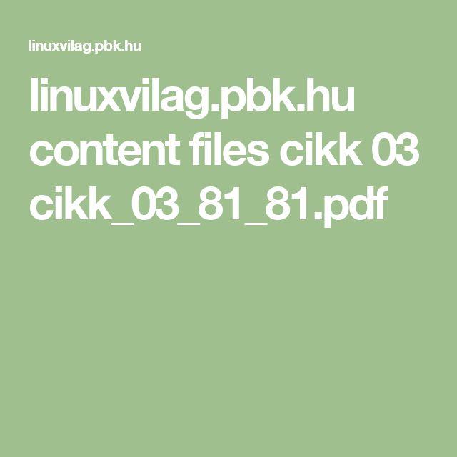 linuxvilag.pbk.hu content files cikk 03 cikk_03_81_81.pdf
