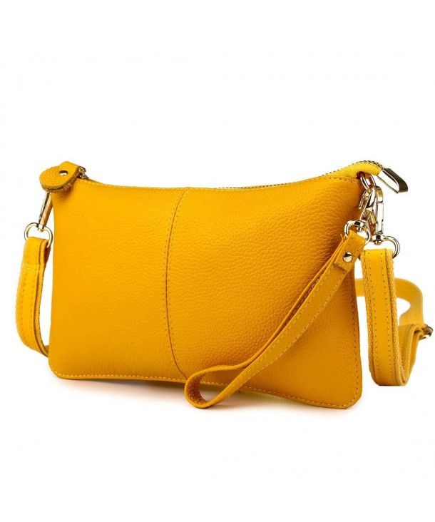 b48abb5873 Wristlet Crossbody Shoulder Removable - Yellow - C9188WMMTXI ...