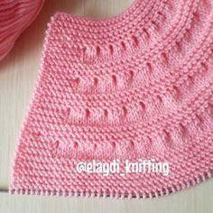 örgülerim (@elaydi_knitting) |  Inrochite tricotate manual   and videos