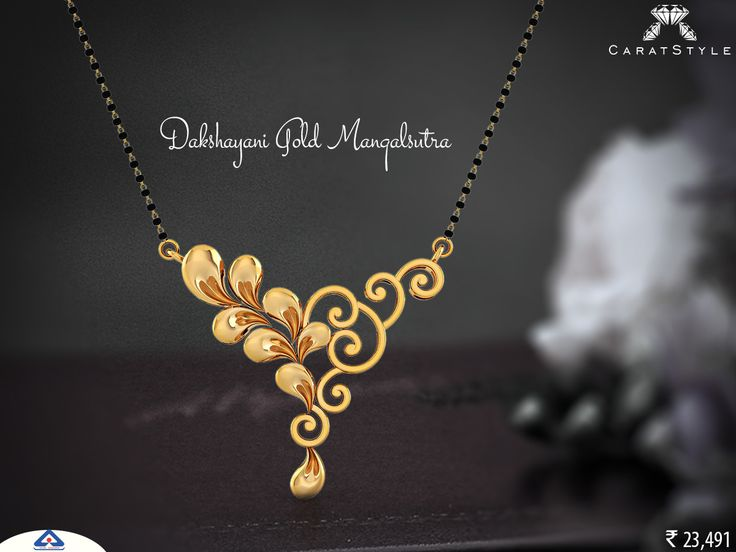 There's a reason why two people stay together.   #gold #mangalsutra…