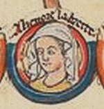 Eleanor Plantagenet, the Pearl of Brittany, 5th Countess of Richmond, eldest daughter of Geoffrey II, Duke of Brittany and  Constance, Duchess of Brittany, and  granddaughter of Henry II and Eleanor of Aquitaine. Potential heiress of England, Brittany, Anjou, and Aquitaine, she was seen as a threat by her uncle, King John, and imprisoned from the age of 18 until she died sometime between her 54th to 58th year--1202 to  c.1241--longest imprisonment of a member of an English royal family.: Royal Families, Pearl, Royals Plantagenet, Angevin Plantagenet, Royal House, Aquitaine, 5Th Countess, English Royal Family
