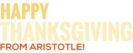 Online Thanksgiving Activities - Thanksgiving Website - Aristotle Thanksgiving