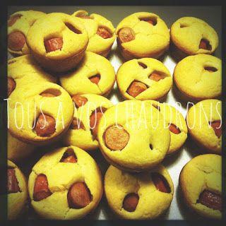 Tous à vos chaudrons: Muffins pogo