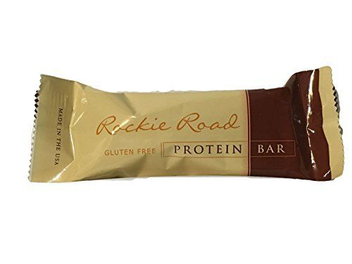 """These delicious rockie road protein bars are 170 calories with 14 grams of protein. Diet Delish protein bars feature a """"protein blend"""" of isolated soy protein, whey protein isolate and calcium caseinate. Many people enjoy these great tasting protein bars as an indulgent snack while... more details at http://supplements.occupationalhealthandsafetyprofessionals.com/weight-loss/bars-snacks/product-review-for-rocky-road-protein-bar-7-bars-pbox/"""