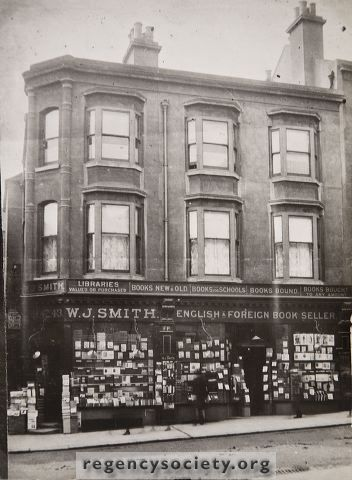 EDWARDIAN NORTH STREET. The firm of W.J.Smith, Booksellers, occupied no. 43 from 1858 until 1912.