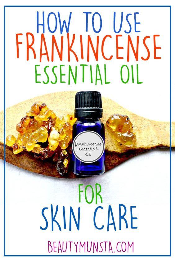 Verwendung von ätherischem Weihrauchöl in der Hautpflege – essential oils ideas