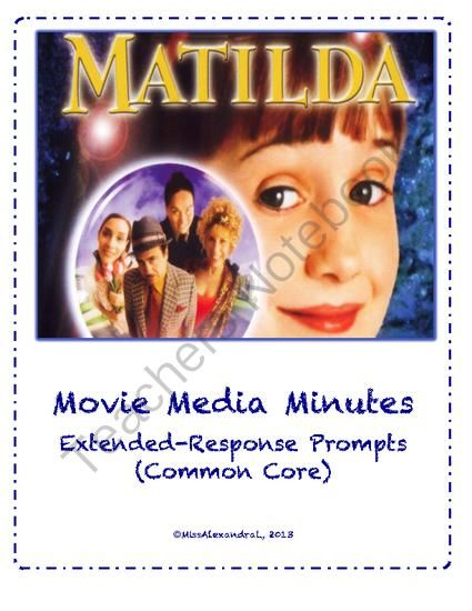 Reaction paper on the movie matilda