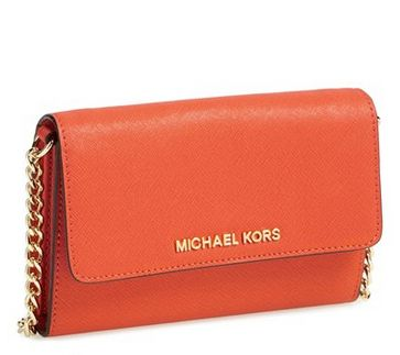MICHAEL Michael Kors 'Large Jet Set' Saffiano Leather Crossbody Bag $105.86 @ Nord Strom - Hot Deals