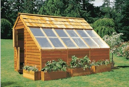 Homemade Backyard Greenhouses