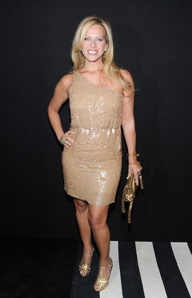 TV personality Dina Manzo attends A Night of Style & Glamour to welcome newlyweds Kim Kardashian and Kris Humphries at Capitale on August 31, 2011