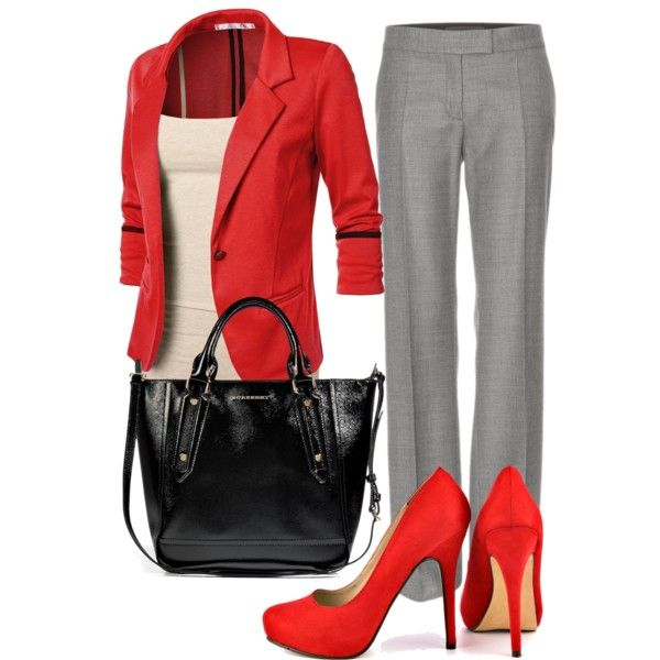 love this work outfit - if only I could wear heels
