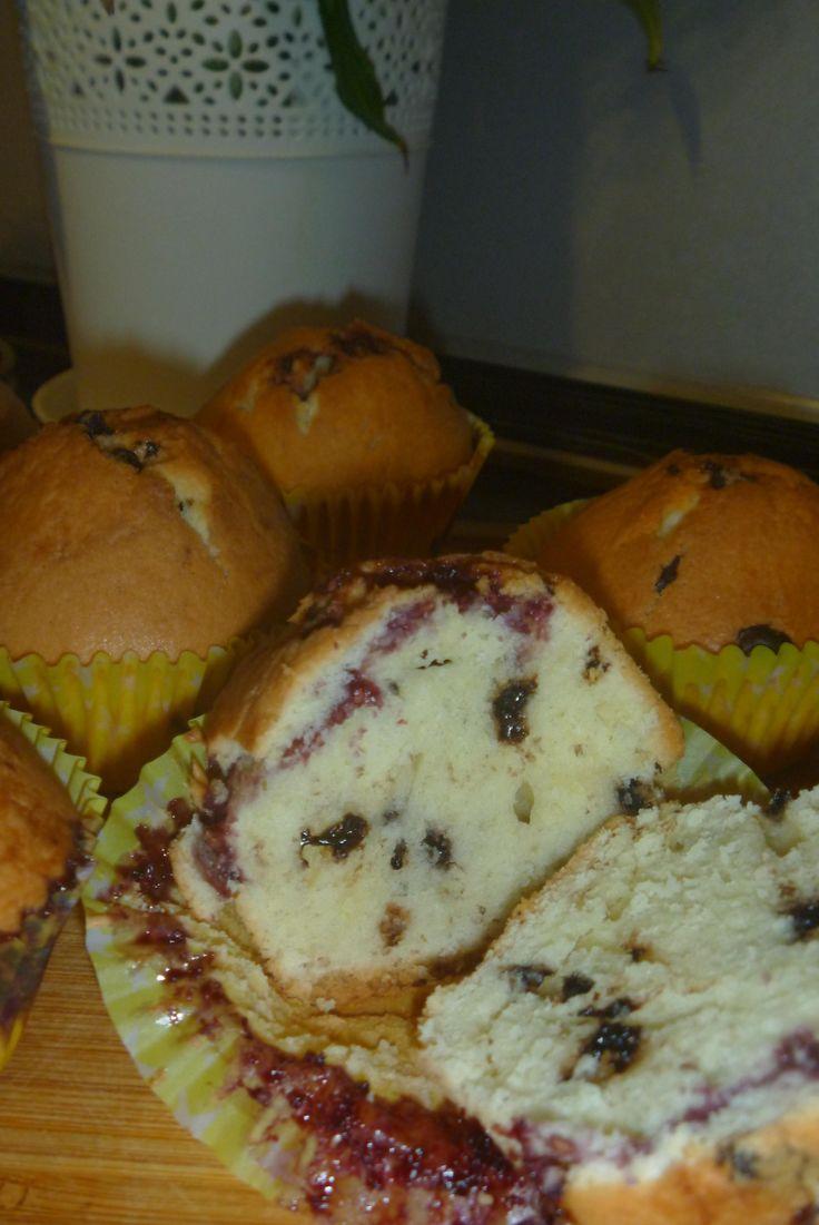 Ванильные мaффины c рaзными начинками - Andy Chef - блог о еде и путешествиях, пошаговые рецепты, интернет-магазин для кондитеров