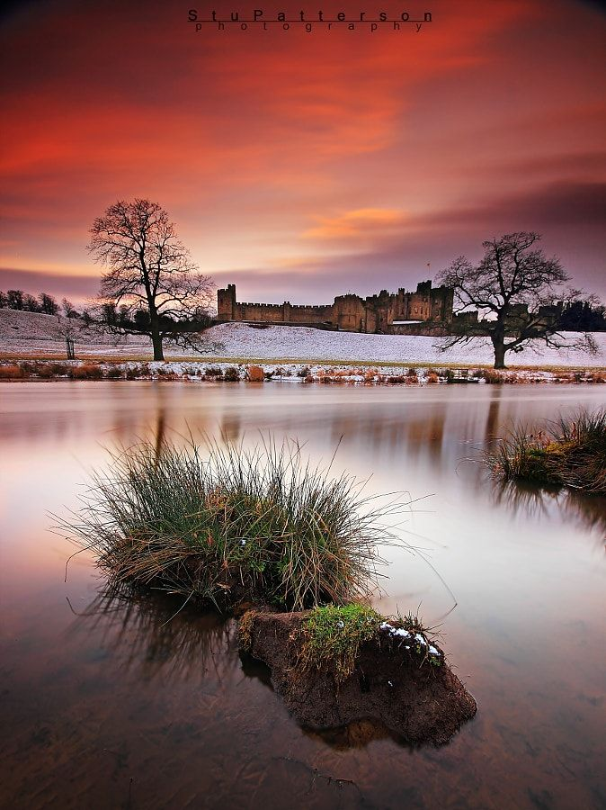 Alnwick Castle (Northumberland, England) by Stu Patterson / 500px