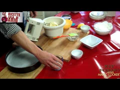 100 Torta margherita cucinata da Dario con il KIt forno Magic cooker - YouTube