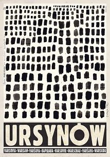 Ursynów, polski plakat turystyczny