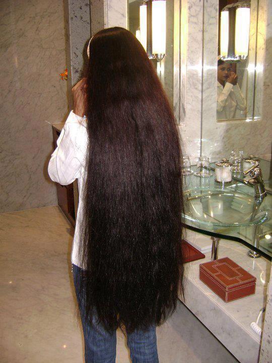 Indian long hair play-7611