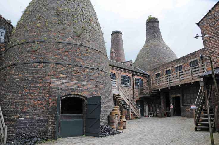 The old pottery kilns in Longton.  I remember these very well although I think most have been demolished now.