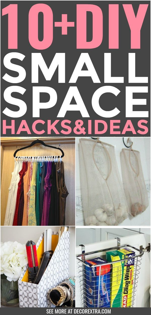 10+ Small Space Living Hacks That Make Tiny Homes Feel Bigger