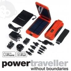 Recharge Your Electronic Gadgets On The Go With Powertraveller