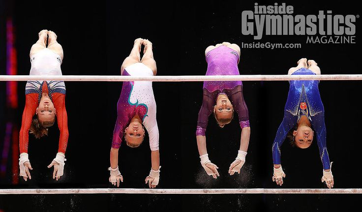 Ooooh, my gosh // (Madison Kocian, Daria Spiridonova, Viktoria Komova, Fan Yilin)