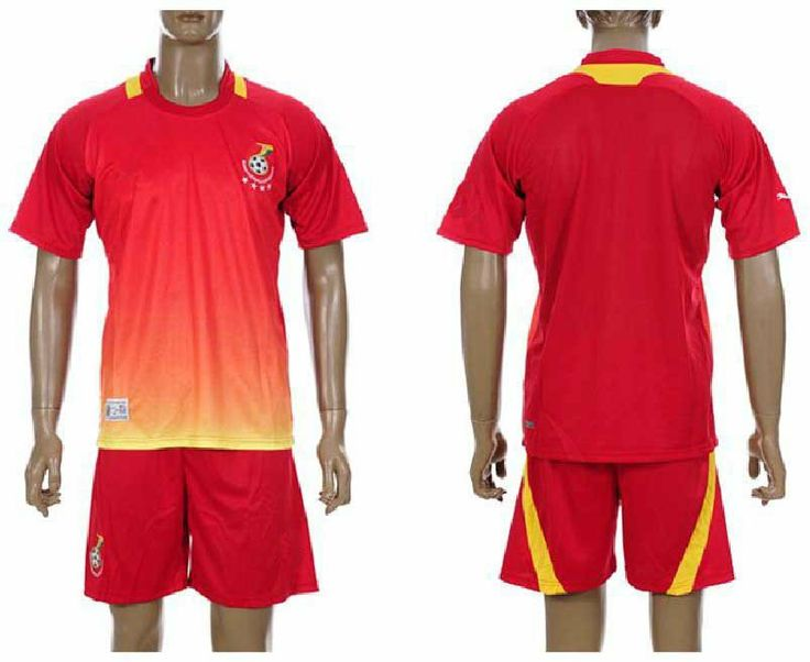 Ghana National Football Team 2014 Away Uniforms