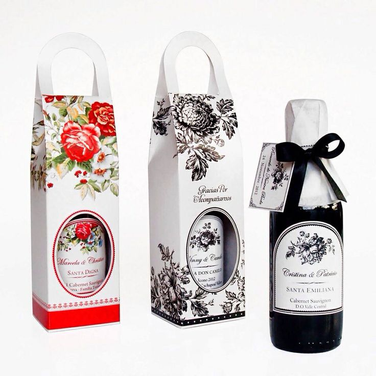 Etiquetado y cajas para botellas de vino o champagne en www.lobly.cl