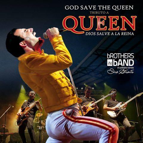 Actuació del grup God Save The Queen. Sant Jordi Club (Barcelona). 24 d'octubre 2014