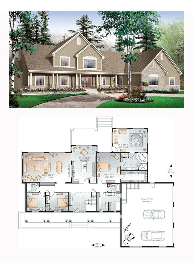 49 Best Images About Luxury House Plans On Pinterest