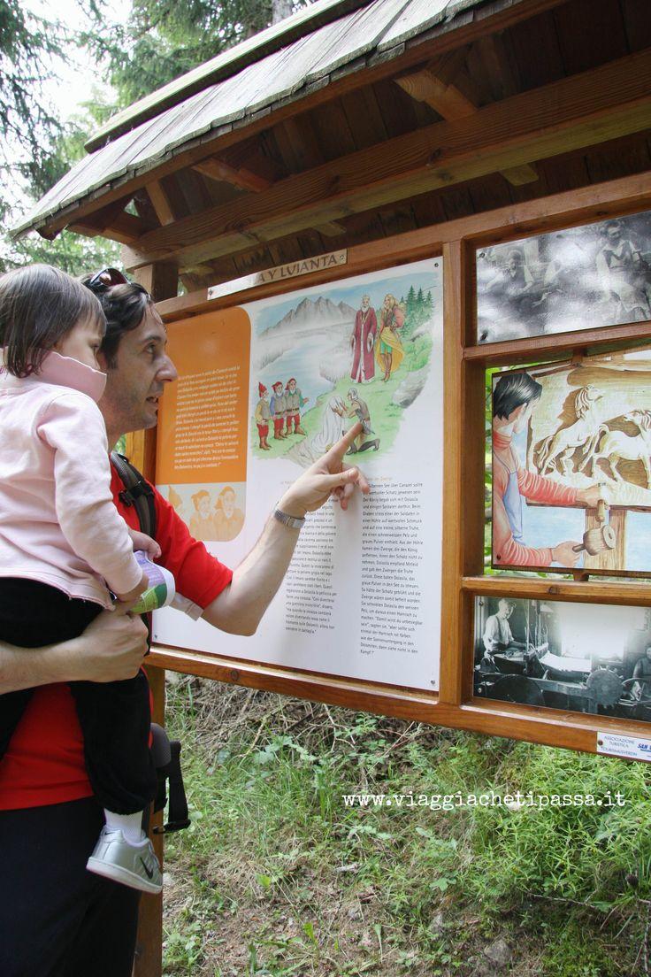 Sentiero tematico Regno dei Fanes in Val Pusteria