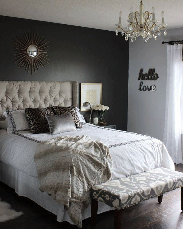 Say Hello To Sweet Dreams. An Accent Wall In Urbane Bronze