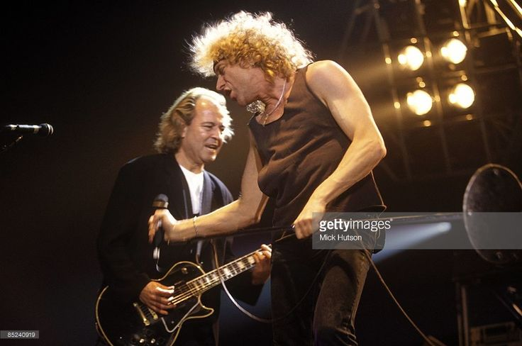 Photo of Mick JONES (FOREIGNER) and Lou GRAMM and FOREIGNER; Lou Gramm & Mick Jones