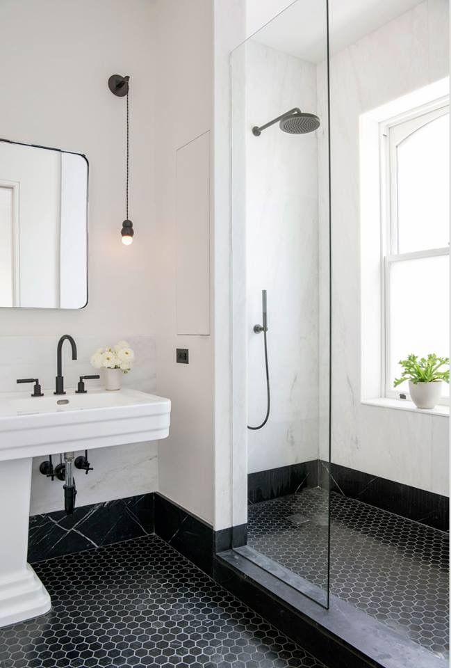 Shower With Images Black Bathroom Modern Bathroom Minimal Bathroom