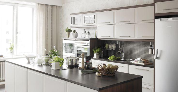 Petra-keittiöt, Nadia. | #keittiö #kitchen