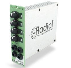 Radial Introduces Submix 4 x 1 Mixer Module For 500 Series - Pro Sound Web