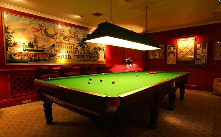 19 Best Images About Snooker Rooms And Tables On