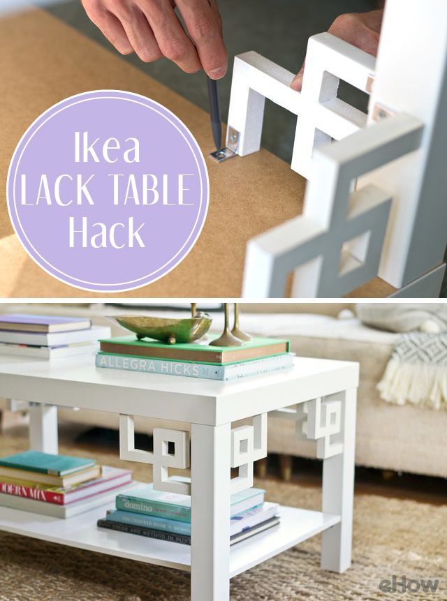 Whether you're decorating on the cheap or selecting a few investment pieces with budget-friendly items mixed in, sourcing from Ikea can be a great way to keep your spending in check. Transforming a simple Ikea piece into something with character is easier than you might think. Make it look way more expensive than $50. http://www.ehow.com/how_12343598_make-ikea-lack-table-look-expensive-cheap-hack.html?utm_source=pinterest.com&utm_medium=referral&utm_content=freestyle&utm_campaign=fanpage